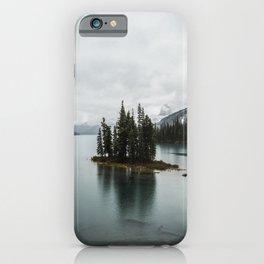 Beautiful Maligne Lake iPhone Case