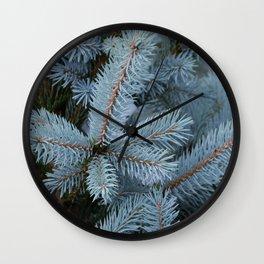 Evergreen Tree Wall Clock