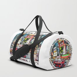 Times Square NYC (poster edition) Duffle Bag