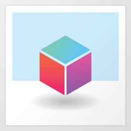 The Geometric - Two Art Print