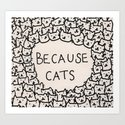 Because cats by kittenrain