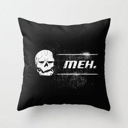 Skull - TERMEHNATOR Throw Pillow