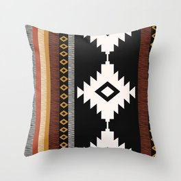 Pueblo in Sienna Throw Pillow