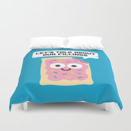Tart Therapy Duvet Cover