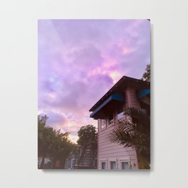 Euphoria Sunset Metal Print