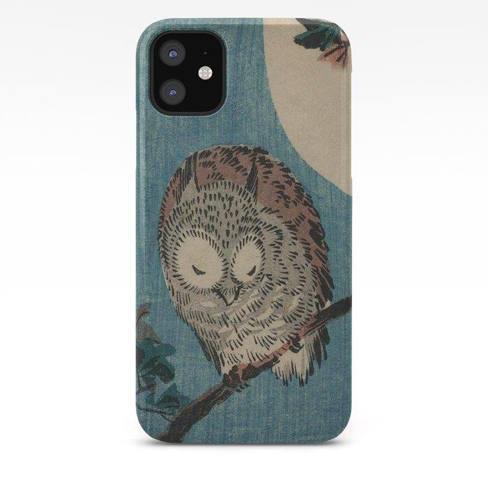 Vintage Japanese Owl iPhone Case