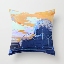 Science & Sky (Beautiful but Different) Throw Pillow
