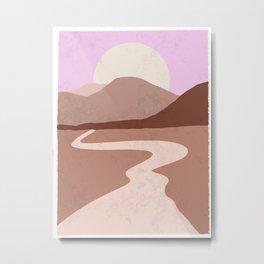 Desert Imagination Metal Print