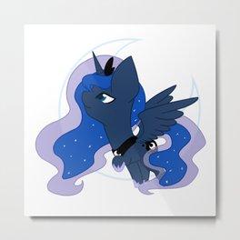 Chibi Princess Luna Metal Print