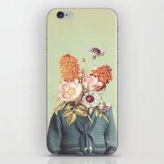 Flower Head iPhone Skin