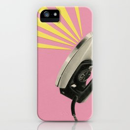 The Art of Ironing iPhone Case