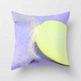Neon Web Throw Pillow