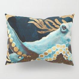 Indigo Octopus Pillow Sham