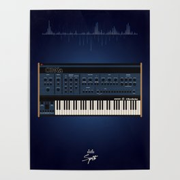 The Synth Project - Oberheim OB-XA Poster