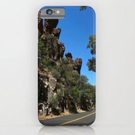 Scenic Bonita Canyon Road iPhone Case