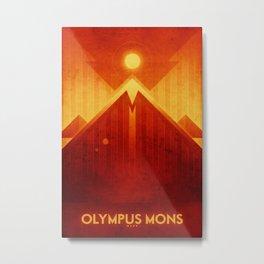 Mars - Olympus Mons Metal Print