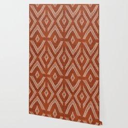 Birch in Rust Wallpaper