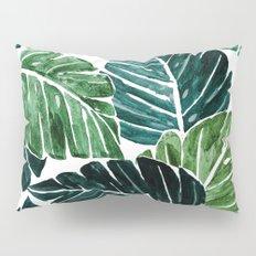 Monstera Leaves Pillow Sham