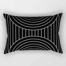 Arch Symmetry VII Rectangular Pillow