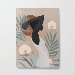 Tropical Girl 4 Metal Print