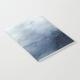 Indigo Abstract Painting | No.2 Notebook