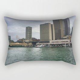 Sydney Ferry Terminals Rectangular Pillow