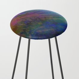 Magical Mystery Lights Counter Stool
