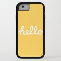 Hello: The Macintosh Office (Yellow) iPhone 7 Adventure Case