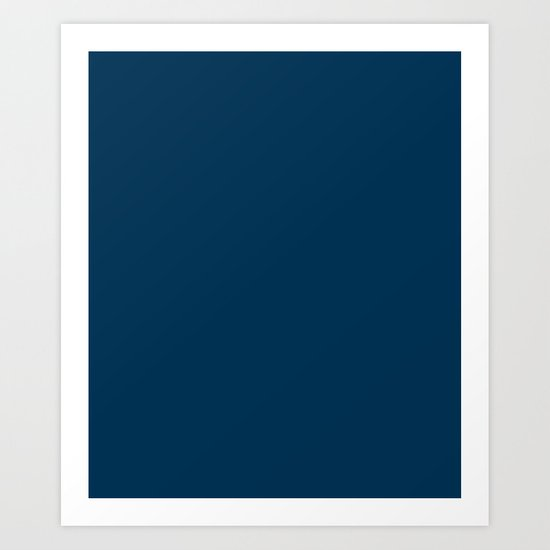 Prussian Blue - solid color by makeitcolorful