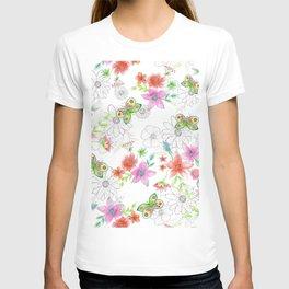 Butterflies in my garden T-shirt