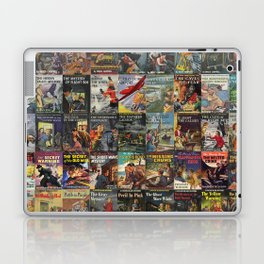 Vintage childrens' mystery series books Laptop & iPad Skin