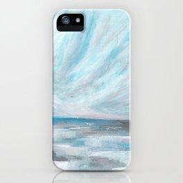 Trust - Dark and Moody Seascape iPhone Case