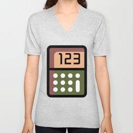 Calculator Super Cute Gift Idea Unisex V-Neck