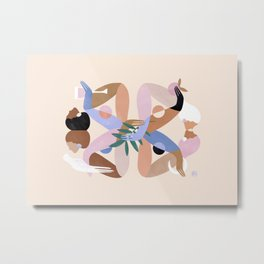 Abstract figure IX Metal Print