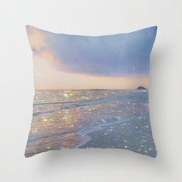 Magic ocean Throw Pillow