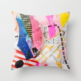 Grita Throw Pillow
