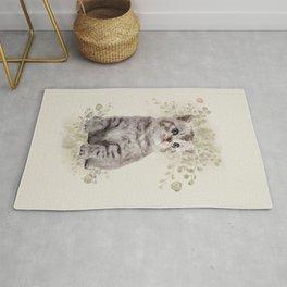 Cute Cat Rug