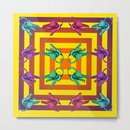 Phychedelic Keys Metal Print