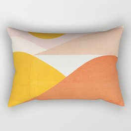 Abstraction_Mountains Rectangular Pillow