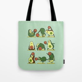 Avocado Yoga With The Seed Tote Bag
