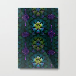 Variations on A Feather IV - Stars Aligned (Primeval Edition) Metal Print