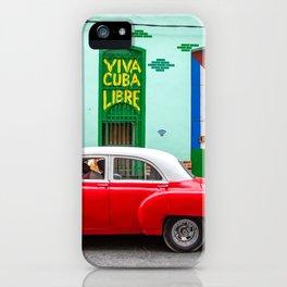 Cuba Libre II iPhone Case