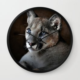 The Mountain Lion Wall Clock
