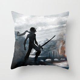 The Siege  Throw Pillow