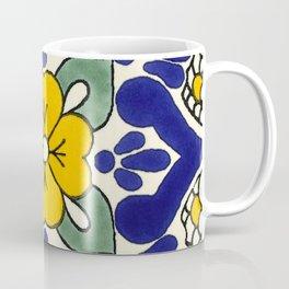 talavera mexican tile in yellow Coffee Mug
