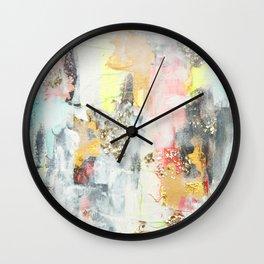 Abstract #3 by Jennifer Lorton Wall Clock