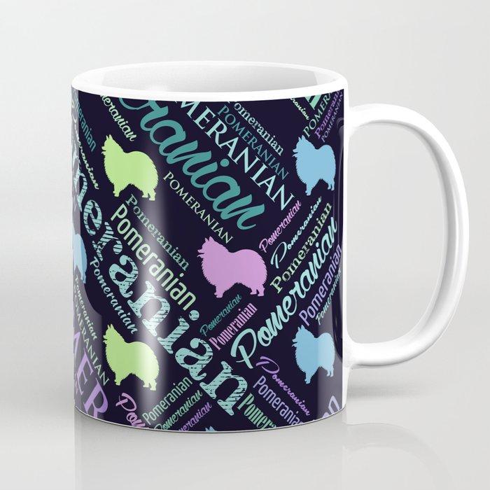 Pomeranian Word Art Coffee Mug By K9printart Society6