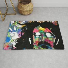 Frank Zappa Pop Art Rug