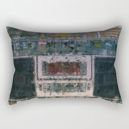 cassette recorder  - painting / illustration Rectangular Pillow