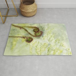 Fiddle-Footed Rug